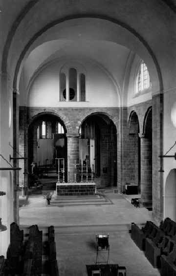 The High Altar looking towards the Chapel of the Resurrection Mirfield