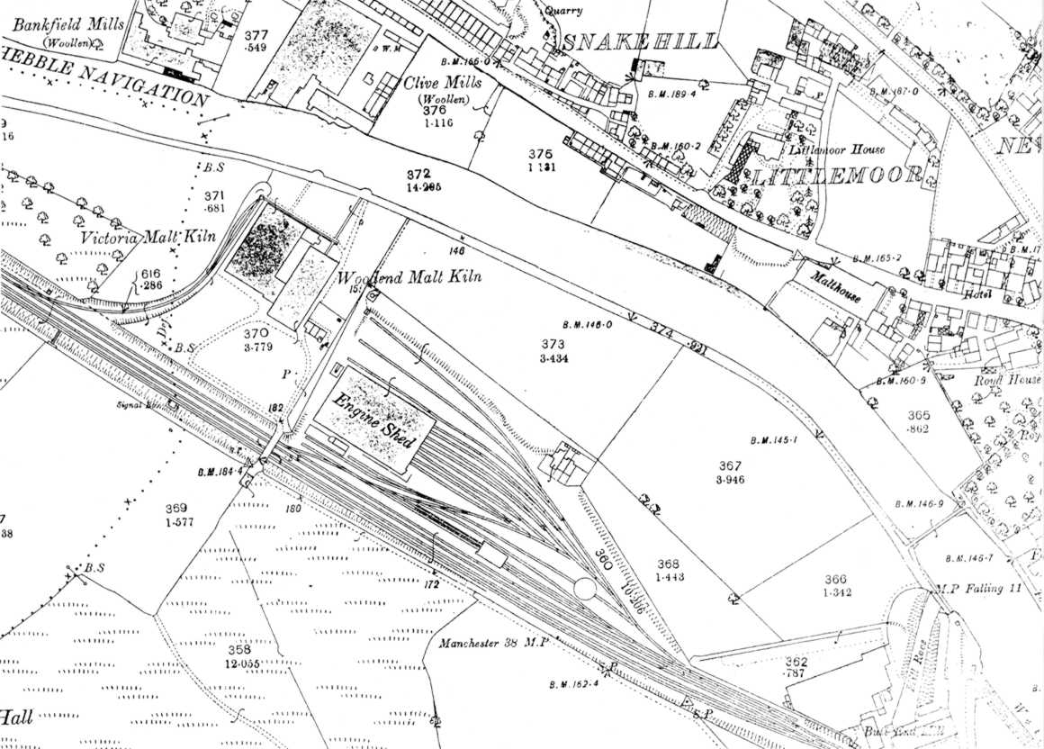 Mirfield Map