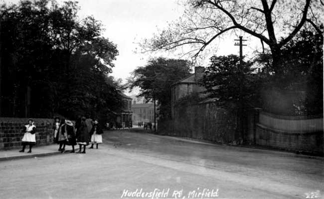 This view shows Huddersfield Road in 1911, leave a comment on this picture if you like!