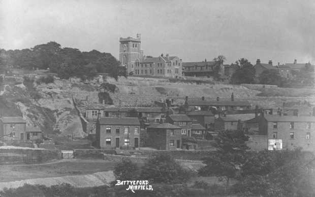 This view shows Battyeford and the College Of The Resurrection around 1910. leave a comment on this picture if you like!