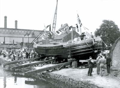 294. Launch Of Ethel Navigation Yard