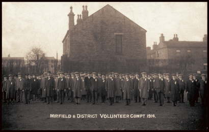 38. 1914 Local Volunteers Parade at start of WW1